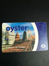 Oyster card, collector's edition, extremely rare