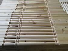 Solid Pine Pack of 30 Georgian 32mm Stair Spindles Seconds Grade 2