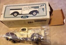 Liberty 1940 Ford Pickup w/ Tonneau Cover Limited Edition Diecast Bank 1/25 NEW