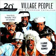 THE VILLAGE PEOPLE : 20TH CENTURY MASTERS: MILLENNIUM (CD) Sealed