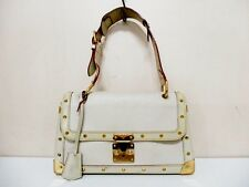 Authentic LOUIS VUITTON Suhali Le Talentueux M91823 Blanc Shoulder Bag DU0017