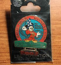 Disney WDI  Disneyland Hong Kong Groundbreaking Dangle Sorcerer Mickey Pin LE