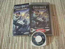 PSP CALL OF DUTY ROADS TO VICTORY SHOOTER  ACCIÓN SONY PSP USADO EN BUEN ESTADO