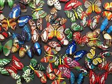15pcs Luminous Butterfly For Wedding Party/ Home/ Hair Clip Glow In Dark Magnet