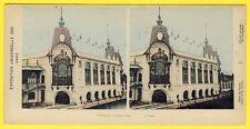 cpa PHOTO STEREO 18 x 9  PARIS Exposition Universelle 1900 PALAIS des FORÊTS