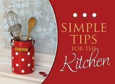 Simple Tips For The Kitchen (LIFE'S LITTLE BOOK OF WISDOM) Publishing, Barbour