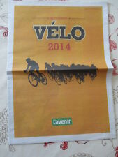VELO : VELO ANNEE 2014 - CALENDRIERS - EQUIPES - RESULTATS - 27/02/2014