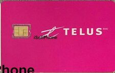 TELUS Mobile NANO LTE Sim Card BRAND NEW