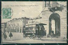 Cuneo città Filovia cartolina XB3375