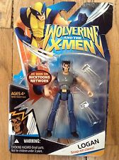 Marvel Universe Wolverine & The X-Men Logan Snap-on Claws Gray Shirt Variant