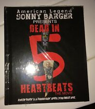 Hells Angels Sonny Barger's 'Dead in 5 Heartbeats' movie 2 Disk DVD/Book SIGNED