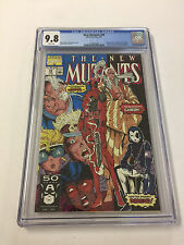NEW MUTANTS 98 CGC 9.8 1ST APP DEADPOOL LEIFELD