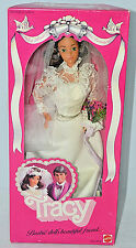 TRACY Bride Wedding day Barbie doll #4103 Mattel 1982 NRFB Steffie face