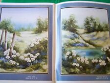 SIMPLY COUNTRY WATERCOLOR BY SUSAN SCHEEWE BROWN 1992 93 PAGES ART TOLE PAINT