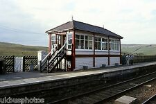 British Rail Garsdale Signal Box Cumbria 2005 Rail Photo