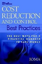 Cost Reduction and Control Best Practices: The Best Ways for a Financi-ExLibrary