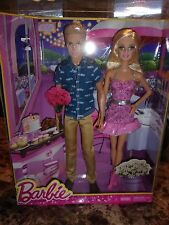 NEW MATTEL BARBIE AND KEN DOLLS