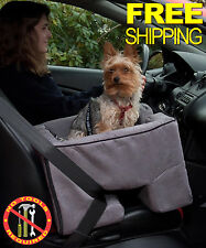 Dog Car Seat Pet Booster Safety Chair For 25lbs Pets Travel Luxurious Queen Seat