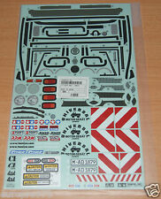 Tamiya 58414 Mercedes-Benz Unimog 406/CR01/CW01/CC01 9495556/19495556 Decals NIP