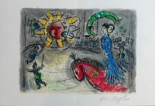 MARC CHAGALL (1887-1985) HAND SIGNED ORIGINAL LITHOGRAPH....VERY RARE!