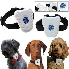 Ultrasonic Dog Anti Bark No Stop Barking Control Collar Train Training Device B2