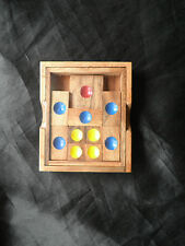 Khun Phaen Escapes From Jail To Freedom wooden sliding Puzzle Game New. Small