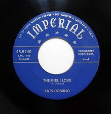FATS DOMINO 45 Please don't leave me / The girl i love  IMPERIAL R&B bb2825