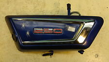 1972 Yamaha DS7 250 350 Y313' left side cover oil tank