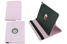 New Air 2 Light Pink I pad case for great small gift w/ 360 stand portfolio case