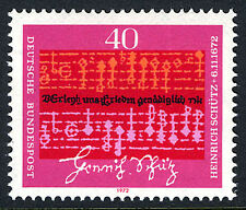 Germany 1096, MNH. Music by Heinrich Schutz, composer, 1972