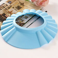 Best Adjustable Shower Cap Baby Kids Children Bath Shampoo Shield Hat Wash Hair