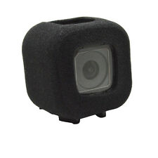 Protect Soft Foam Windshield Windscreen Case Cover for Gopro 5 4 Session Black