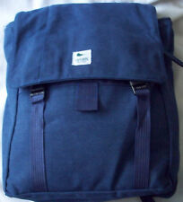 LOT OF 3 CANVAS HIPSTER BACKPACKS  NEW W/O TAGS BLUE CHARCOAL KHAKI