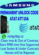 SAMSUNG Unlock Code AT&T Usa Samsung Galaxy Rugby Pro