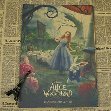 Alice In Wonderland Movie Poster Cafe Room Bar Decor 42*30CM