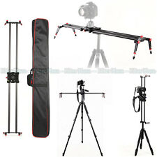 "120cm/48"" Carbon Fiber DSLR Camera DV Track Slider Video Stabilizer Rail System"