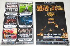 SUICIDE SILENCE Combichrist Skeletonwitch 2014 Arizona concert promo card flyer
