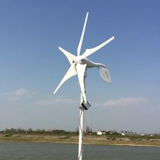 5 Blades 400W DC12-24V Turbine Wind Generator With Waterproof Charge Controller