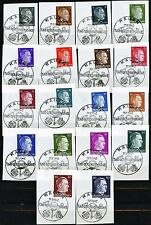 Germany Kauen Kaunas Lithuania Ostland Dienstmark Stamp Day 1942 Complete Set 18