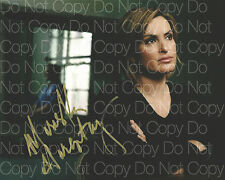 Law and Order SVU Mariska Hargitay signed 8X10 photo picture autograph RP
