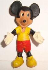 Vintage RUBBER BENDEE BENDY FIGURE MICKEY MOUSE WALT DISNEY WDP HONG KONG