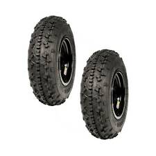 "DWT MX Rok-Out Front Tires/Wheels 20x6-10"" Yamaha Raptor 125 250 660 700"