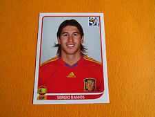 567 RAMOS ESPAÑA ESPAGNE PANINI FOOTBALL FIFA WORLD CUP 2010 COUPE DU MONDE