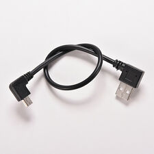 USB 2.0ARight male plug to Mini B 5P Right Angle Male plug Cable Adapter CordsEW