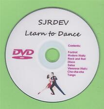 Learn to Dance DVD Instructional Video Strictly Ballroom Tango Foxtrot Salsa etc