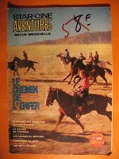 Star-Ciné Aventures 180 -Le chemin de l'enfer-Romans-Film Roman Western DL 1966