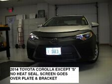 Lebra Front End Mask Cover Bra Fits TOYOTA COROLLA 2014-2016 exc. S model
