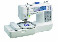 Brother SE400 Combination Computerized Sewing and 4x4 Embroidery Machine With...