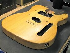 Early 1970 Fender Telecaster GUITAR BODY Vintage Original ASH 4-bolt Mount Tele
