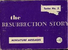 The Resurrection Story Message Card Deck, Vintage, 1965 (Religious)